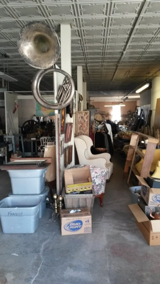 Pre-Auction - Starting to organize the goods